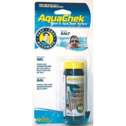 Aquachek pool test strip teststrips zout zwembad