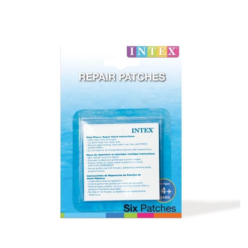 Intex reparatie zelfklevende plak set