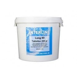 5 kg Grote Chloortabletten Interline Pool long 90
