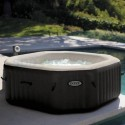 Intex Jet Spa Bubble Therapy Octagon 4 pers