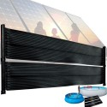 Zwembadverwarming 610 x 65 cm Solar collector