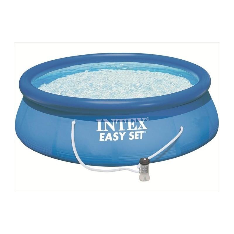 Intex Easy Set Pool 396 x 84 cm zwembad met pomp