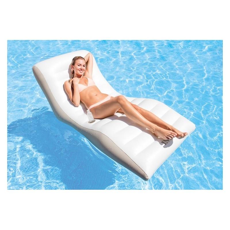 Design zwembad drijfstoel en opblaasmeubel