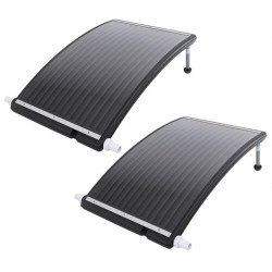 2x Solar board collector zwembadverwarming