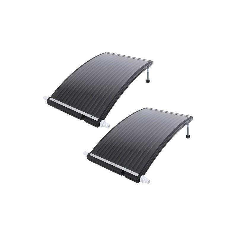 2x Solar board collector zwembadverwarming