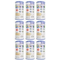 Intex 9 pack type A filter cartridge