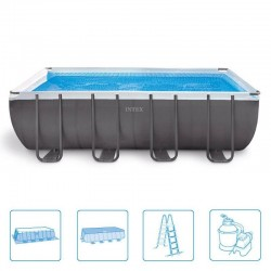 Intex Ultra Frame Pool 549 x 274 x 132 cm rectangle met zandfilter