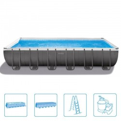 Intex Ultra Frame Pool 732 x 366 x 132 cm rectangle
