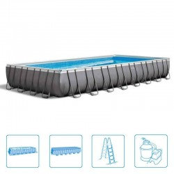 Intex Ultra Frame Pool 975 x 488 x 132 cm rectangle met zandfilter