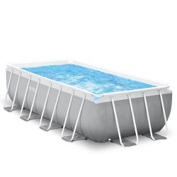 Intex Prism Ultra Frame Pool 488 x 244 cm rectangle