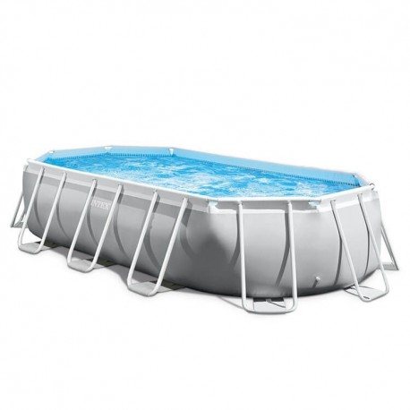 Intex Ovaal Prism Frame Pool 503 x 274 x 122 cm