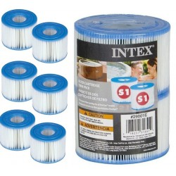 6 x Intex spa Filter type S1 cardridge 29001