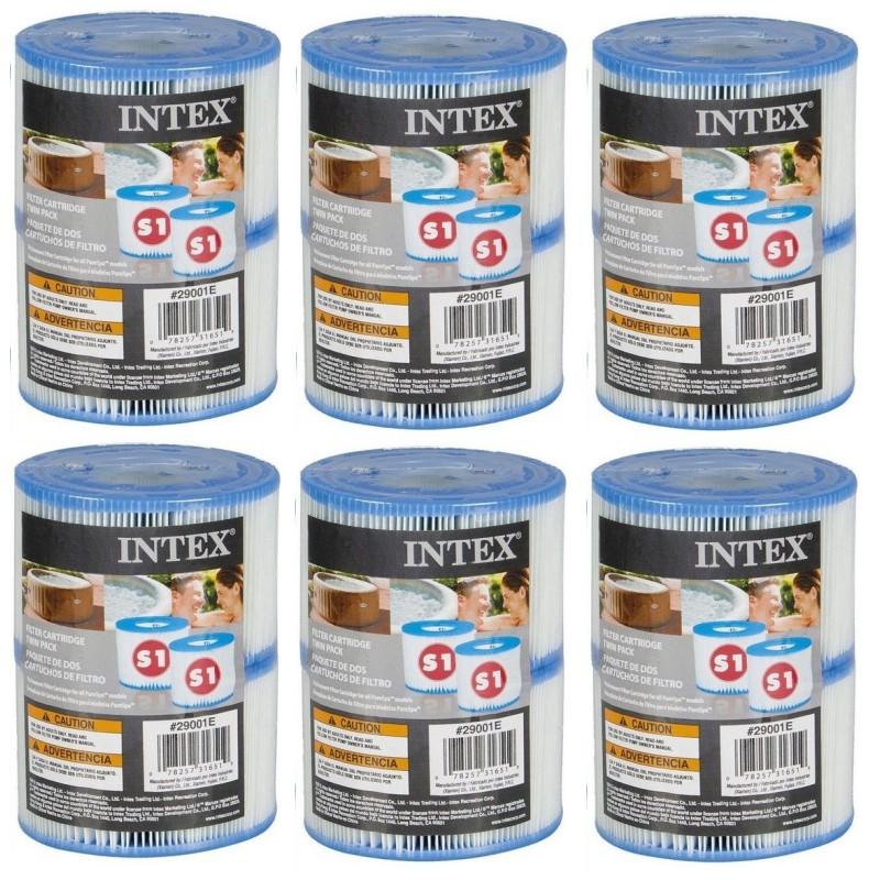 12 x Intex spa Filter type S1 cartridge 29001