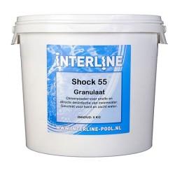 52781257 shock 55 granulaat 5 kg interline pool
