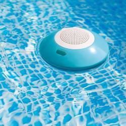 Intex draagbare drijf luidspreker 3 W Blauw, Wit