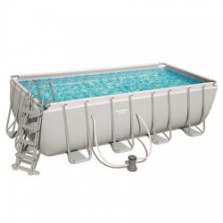 Bestway Steel Frame Pool  488 X 244 X 122 CM