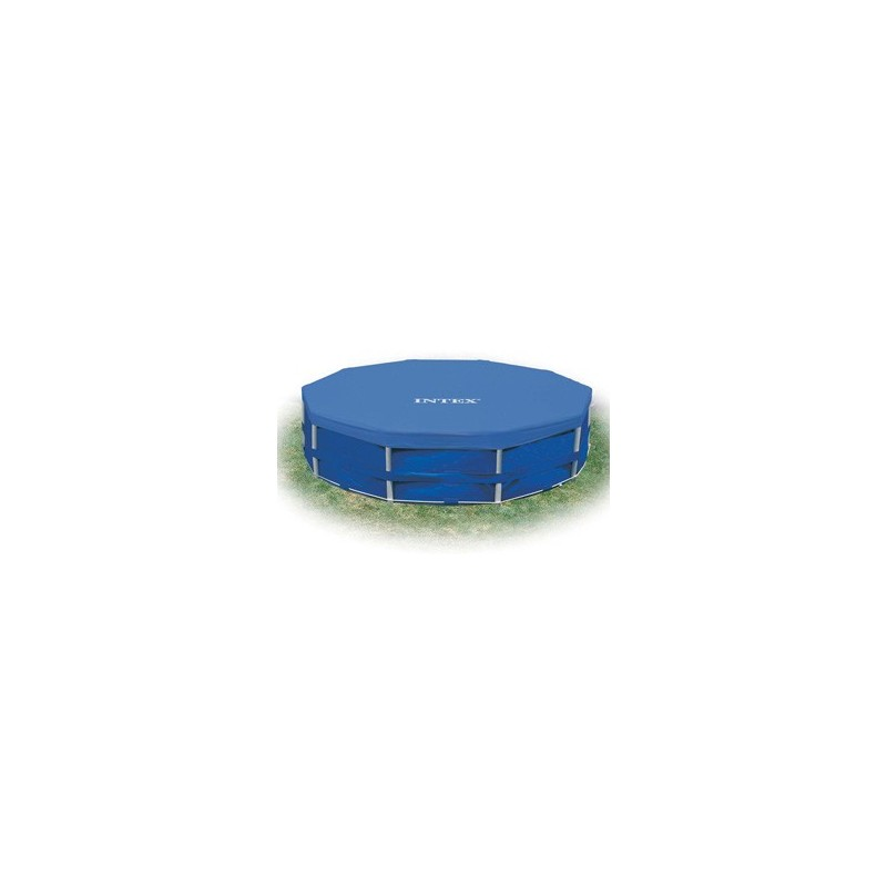 Intex metal frame pool afdekking 457 cm zwembad afdekzeil for Intex mini frame pool afdekzeil