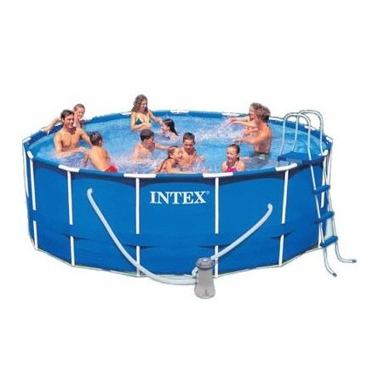 Intex Metal Frame Pool rond 457 x 84 cm zwembad