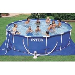 Intex Metal Frame Pool rond 549 x 122 cm zwembad