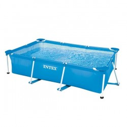 Intex Rectangular Metal Frame Pool 260 x 160 x 65 cm
