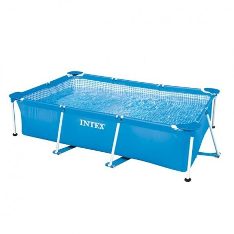 Intex Metal Frame Pool 260 x 160 x 65 cm rectangle