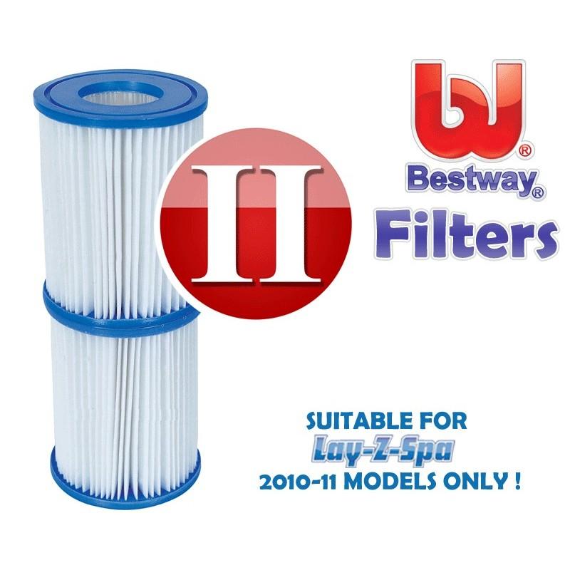 Bestway zwembadpomp filter type 2 cartridge