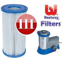 Bestway zwembadpomp filter type 3 carrridge