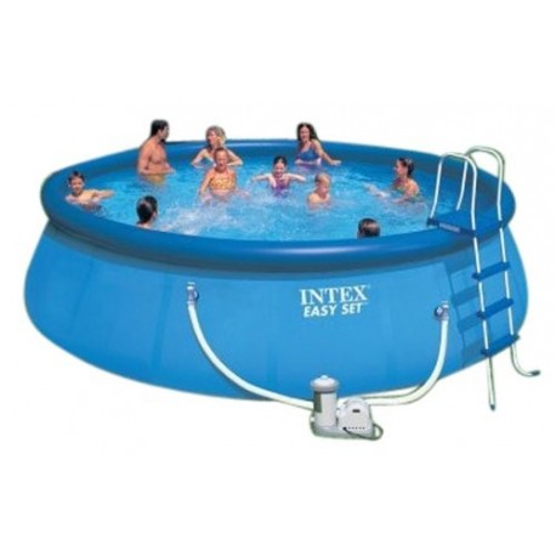 Zwembad Met Pomp.Intex Easy Set Pool 457 X 107 Cm Opblaas Easyset Pool Zwembad Kopen
