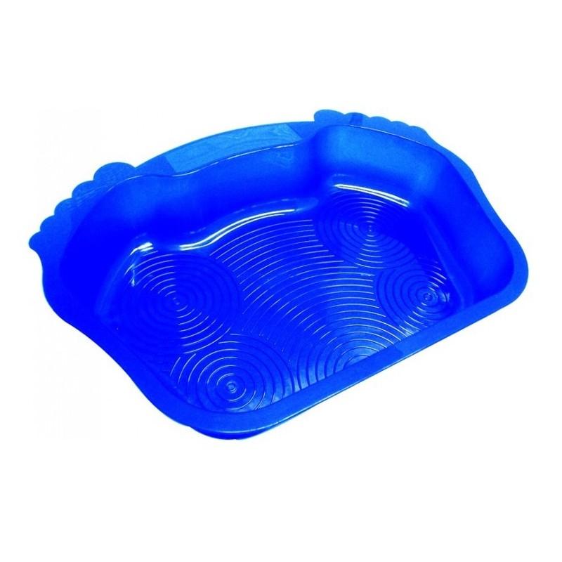 Zwembad instap voetvormig voetbad