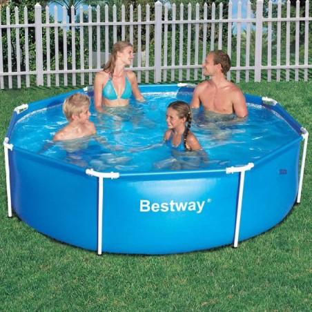 Bestway Frame Pool 244 X 61 cm Steel Pro zwembad (uniek formaat)