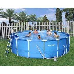 Bestway Frame Pool 457 X 122 cm Steel Pro zwembad