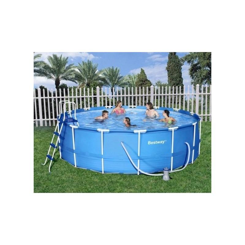 Bestway Metal Frame Pool Rond 457x122cm Zwembaden Frame