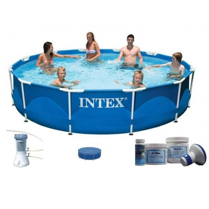 Intex Metal Frame Pool 305 x 76 cm SET aanbieding
