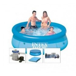 Intex Easy Set Pool 244 x 76 cm SET aanbieding